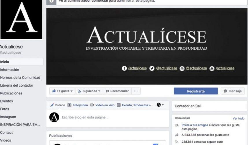ActualiceseEnFacebook