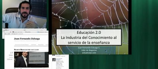 Educación 2.0 - Conferencia en Línea con MauricioDuque.org