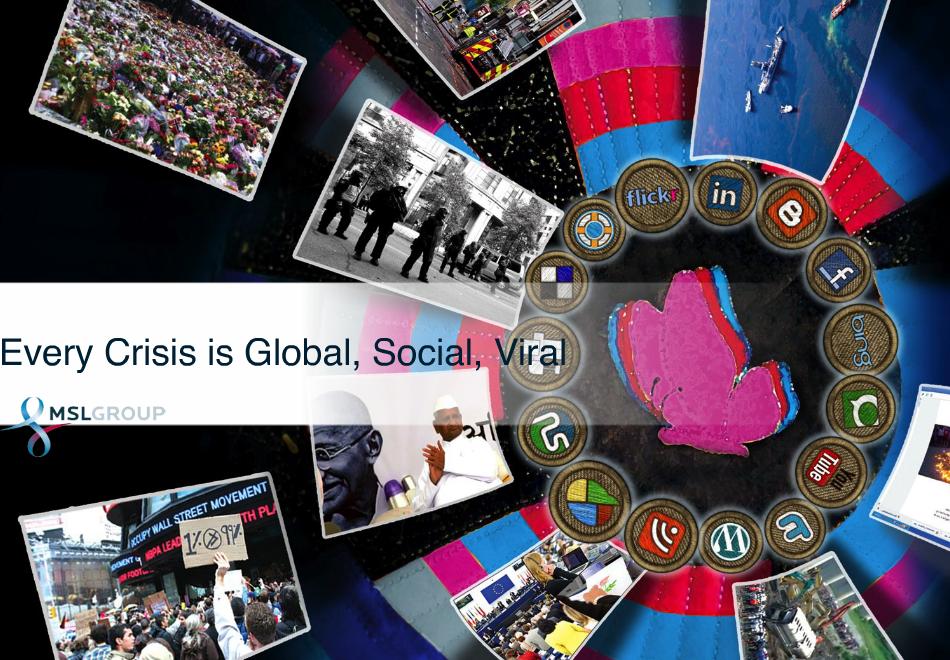 Manejo de Crisis en Social Media – propuesta de Gaurav Mishra