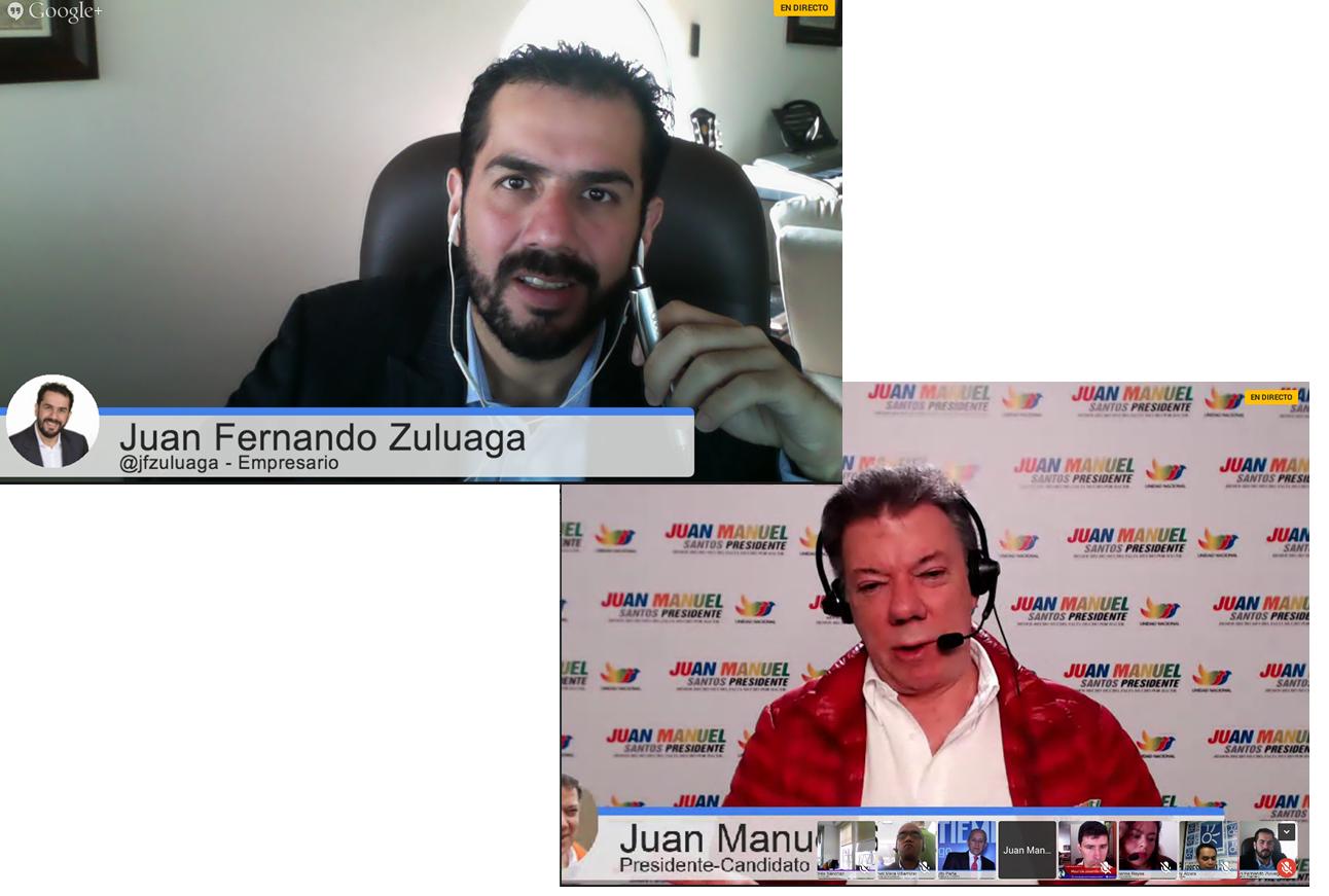 Hangout con el Presidente Juan Manuel Santos