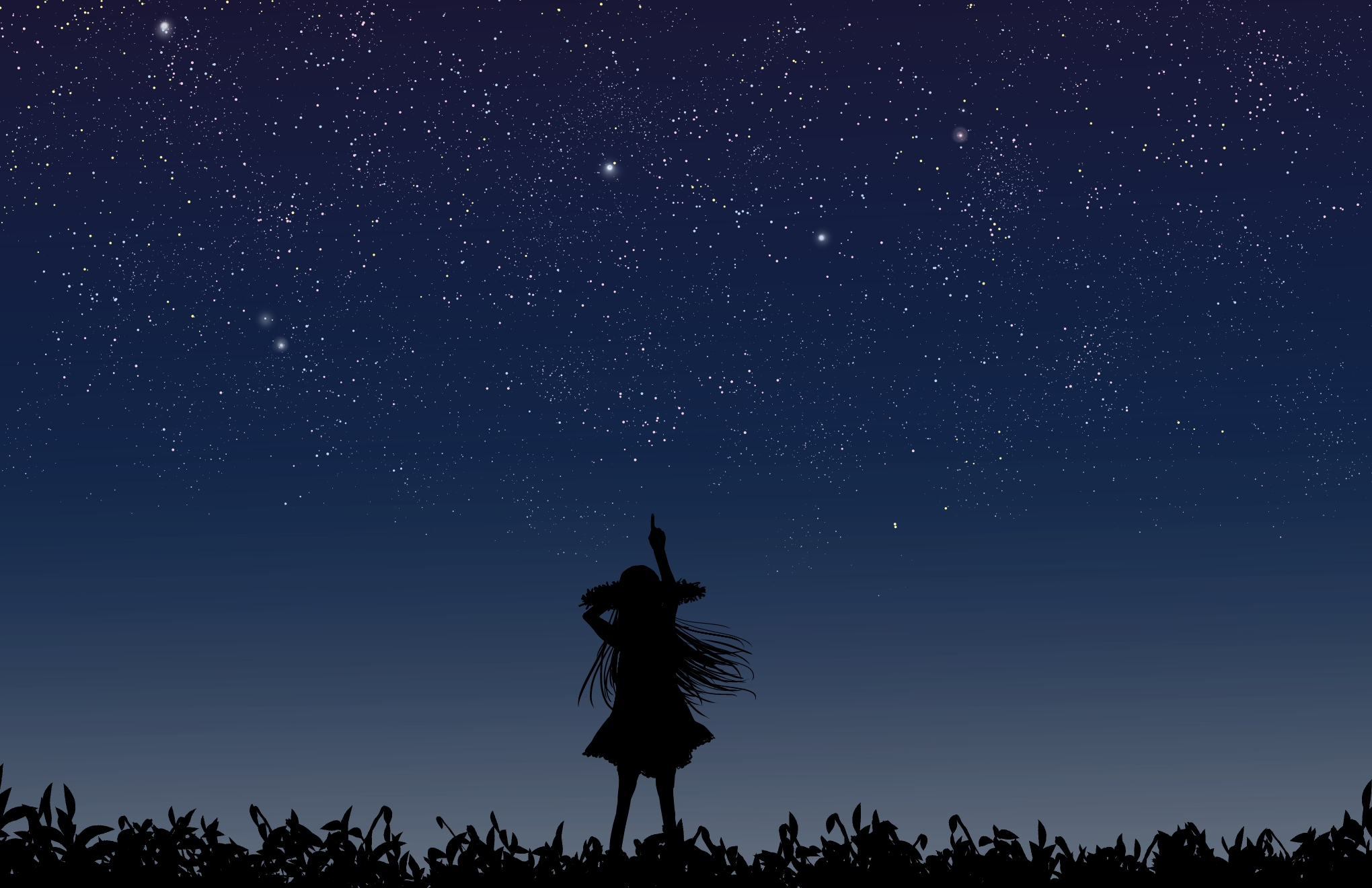 Pointing to stars