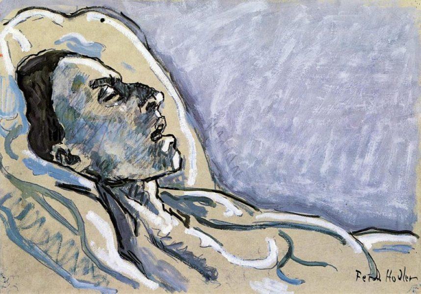 The Dying Valentine Gode-Darel – Ferdinand Hodler, 1912